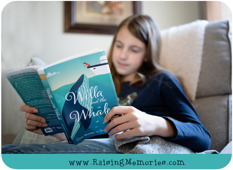 Willa and the Whale Tween Book Giveaway