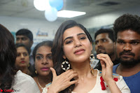 Samantha Ruth Prabhu Smiling Beauty in White Dress Launches VCare Clinic 15 June 2017 058.JPG