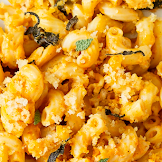 Easy Vegan Recipe Pumpkin Mac and Cheese