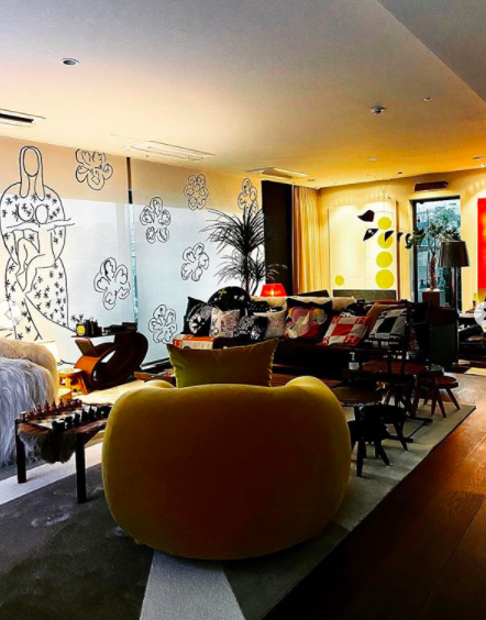 GD lüks evinin iç tasarımından görüntüler paylaştı