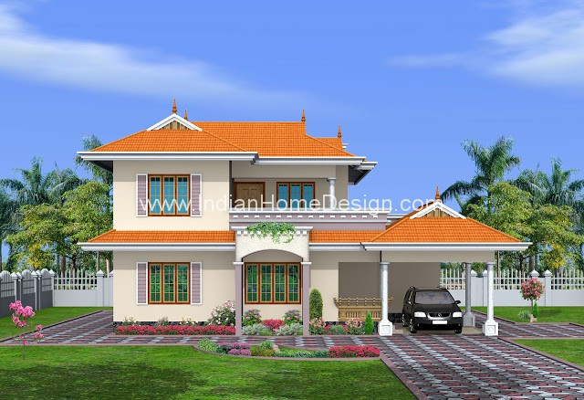 2250 sq feet kerala traditional style home design idea indian home
