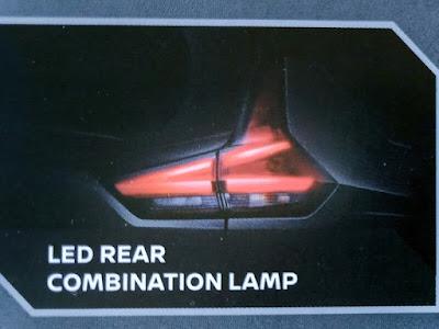 Gambar LED Rear Combination Lamp Dan Dual LED Signature With DTRL