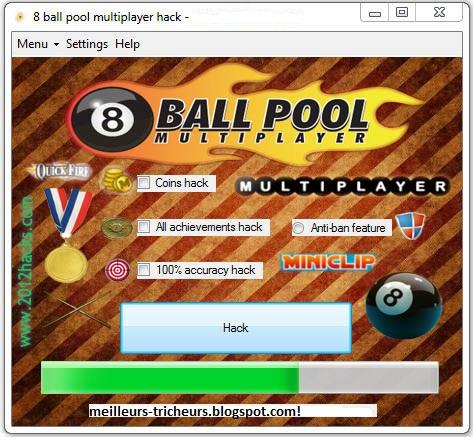 8 ball pool multiplayer hack