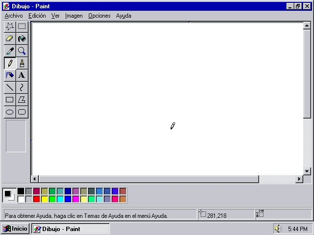 how to open paint in win 10