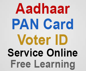 Aadhaar Card, Pan Card, Voter ID Card Services Online - Servicify.in