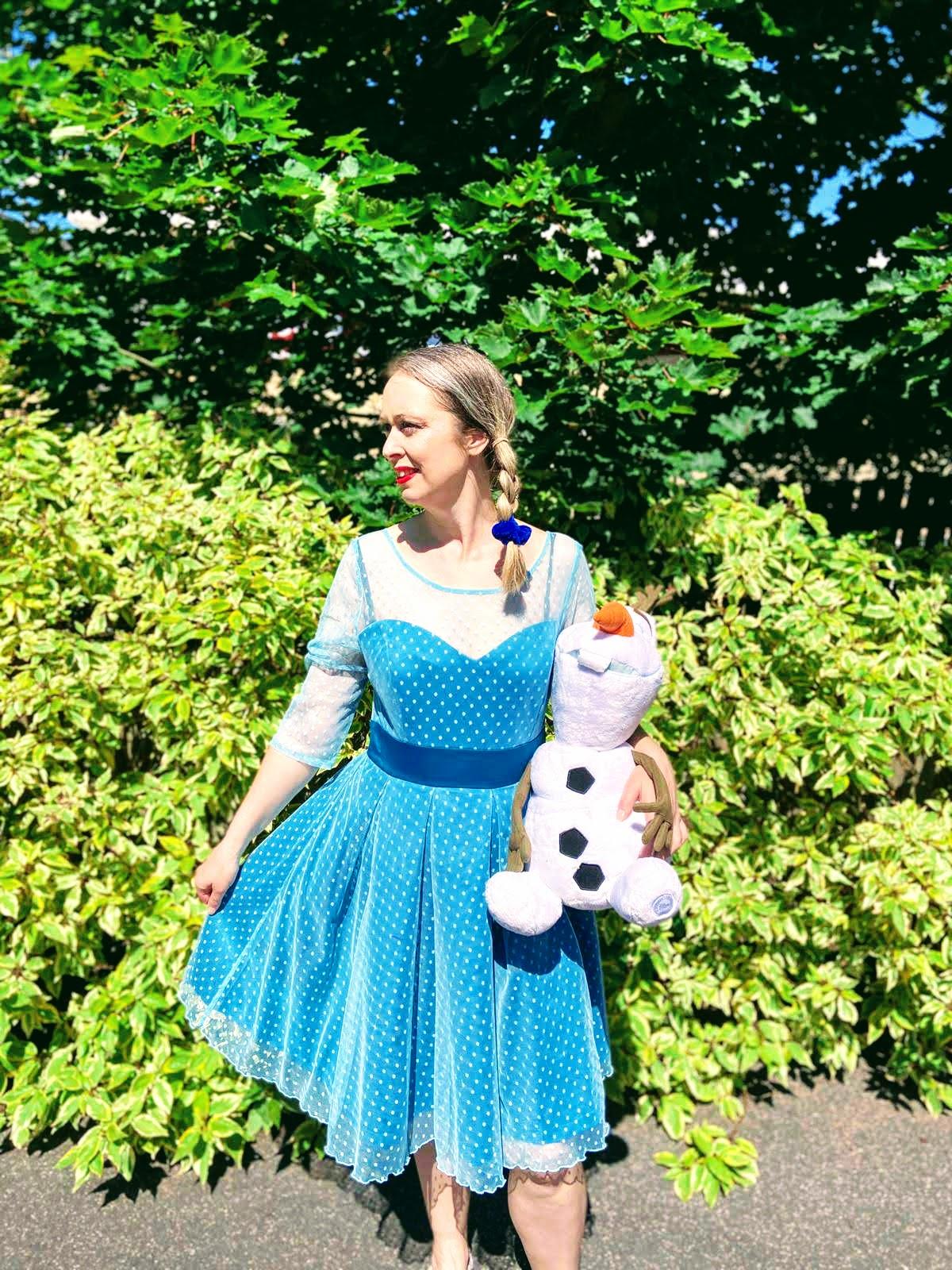 Elsa From Frozen Fancy Dress