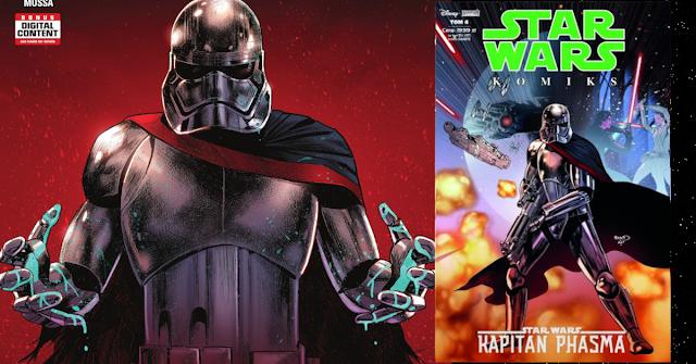 Egmont: Zapowiedź Star Wars Komiks (4/2019): Kapitan Phasma