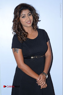 Geethanjali Thasya Latest Pictures in Black Short Dress at Nanna Nenu Na Boyfriends Audio Launch