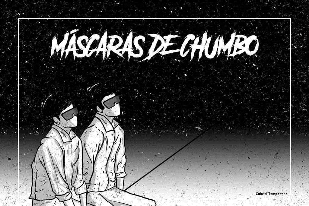 Máscaras de Chumbo. Esse é o título do novo single da Umbralina. A faixa é desenvolvida a partir da temática kardecista e relata a existência de diversos planos espirituais