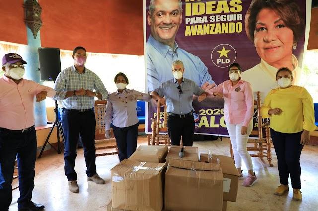 GONZALO CASTILLO ENTREGA 90,000 MASCARILLAS EN PROVINCIAS DEL ESTE Y DEL CIBAO PARA AYUDAR A PREVENIR EL COVID-19