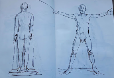 Life Drawing Session 6 : Fun With Dummies