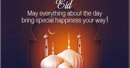 Top 100 Eid Ul Fitr Wishes 2020 [English]