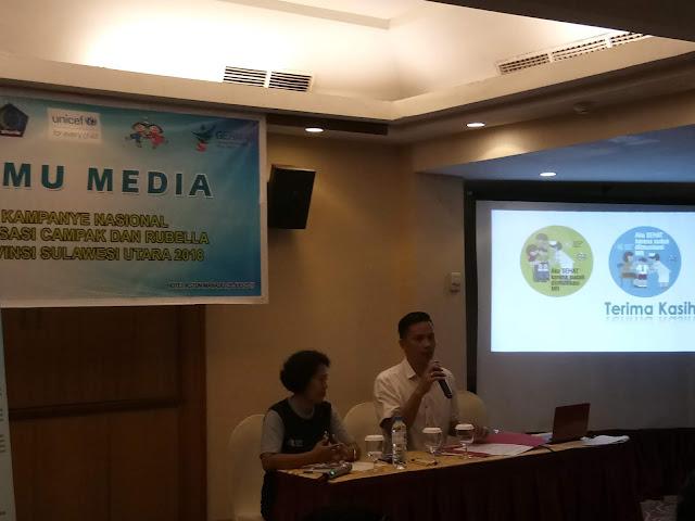 Pentingnya Imunisasi Campak dan Media.Chres : Peran Media Dibutuhkan Dalam Mengkampanyekan Imunisasi