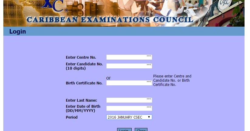 CSEC CXC Exam Past Papers: CSEC January 2016 Results Available