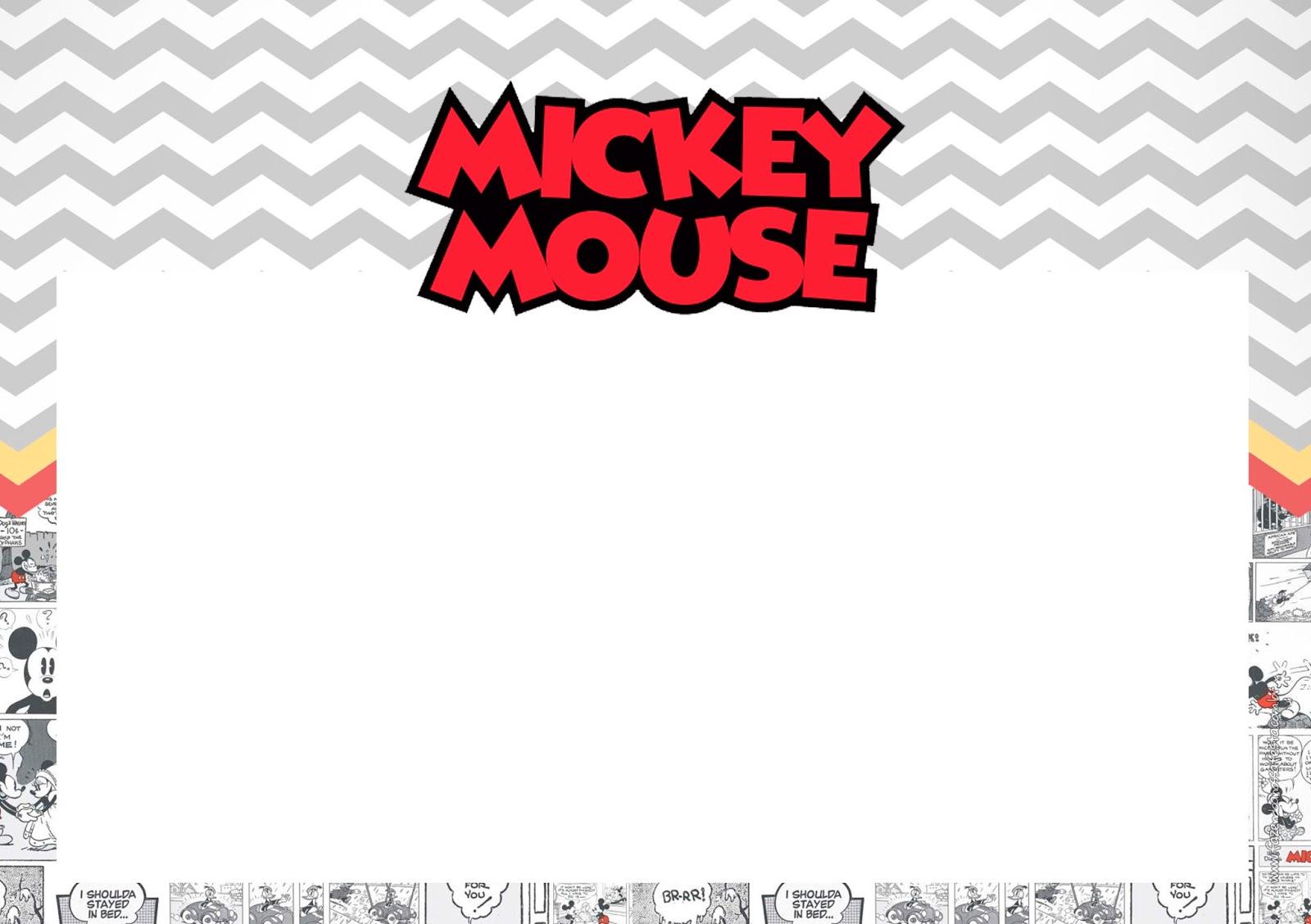 vintage mickey mouse free printable