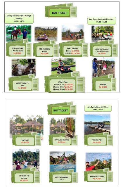 Harga Aktivity Desa Wisata Ekang