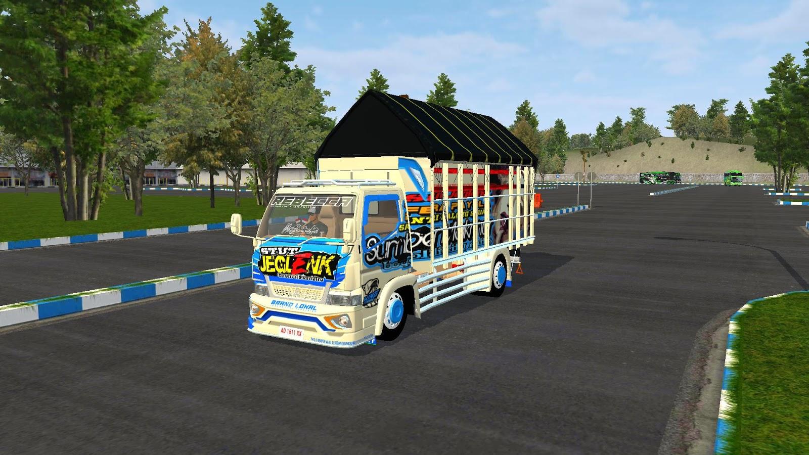 Livery Mod Truck Canter Stut Jeglenk