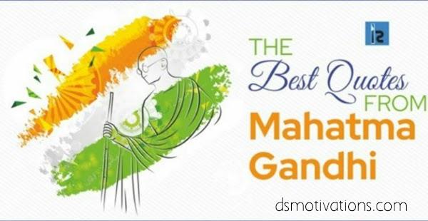 130+ Mahatma Gandhi Jayanti quotes 2020 {Mahatma Gandhi quotes in Hindi}