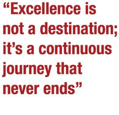 Excellence Famous Quotes