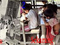 Dimanakah Letak Perbedaan Fasilitas Pendidikan Dulu dan Sekarang?