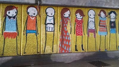 Street art graffiti Stik