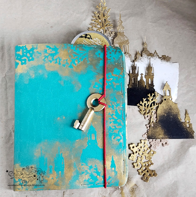 @nastyalena #travelbook #scrapbooking