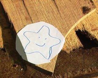 mal gambar tempelkan pada kayu