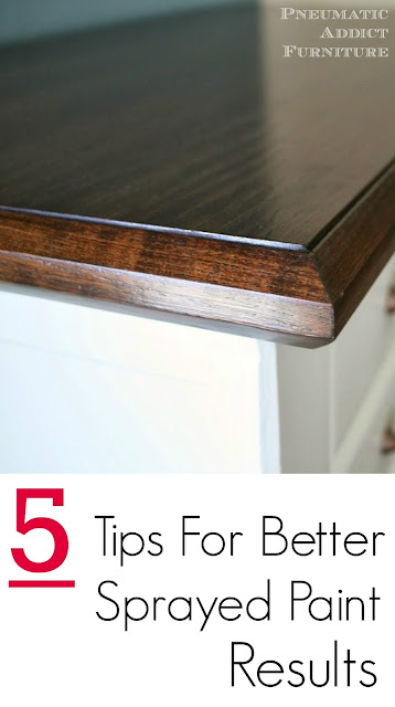 5 Tips for Better Sprayed Paint Results