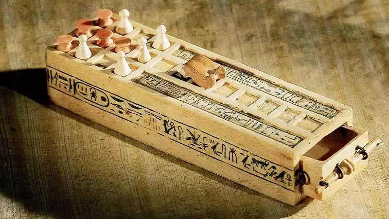 Senet is an ancient board game from 3500 bc