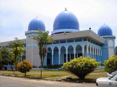 Masjid Tengku Muhd. Faiz Petra, Gua Musang