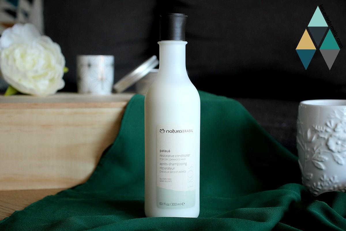 soin capillaire après-shampooing réparateur pataua natura brasil