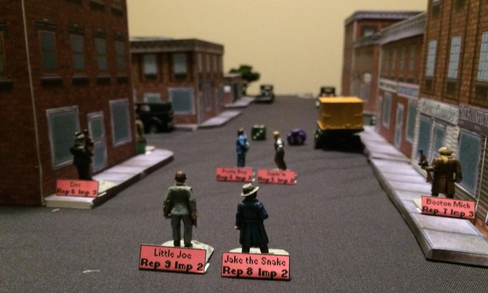Bob's Miniature Wargaming Blog: Black Ops Gangsters