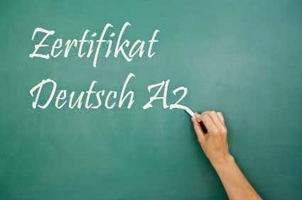 Zertifikat Start Deutsch A2 Für Zugewanderte Musterprüfung