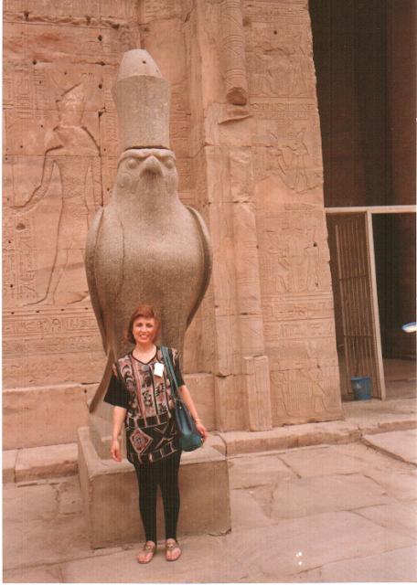 Horus heykeli