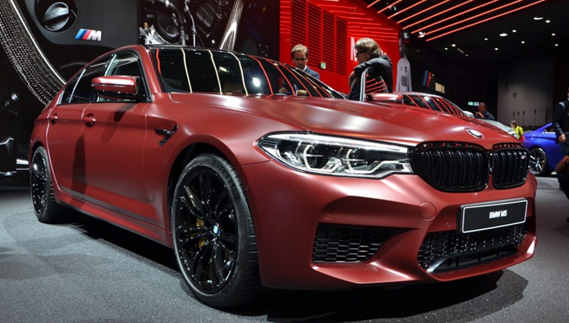2018 BMW M5 F90 First Edition with 600 hp