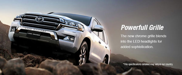 exterior new toyota land cruiser