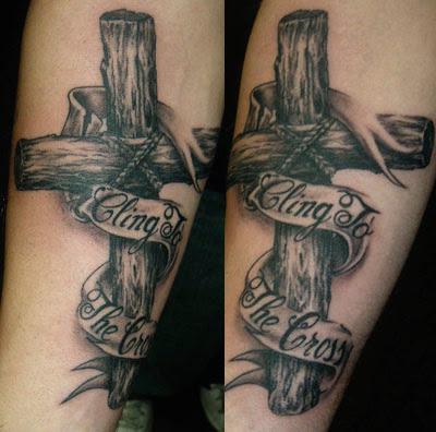 Wooden cross tattoos | Tattoos of Crosses