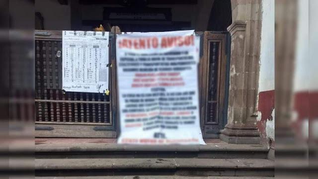 """Narcomanta confirma a un nuevo cártel en Michoacán nace """" Cártel Gente Nueva de Michoacán y Guerrero amenazando en su mensaje"""