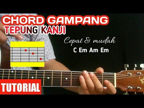 Chord gitar tepung kanji