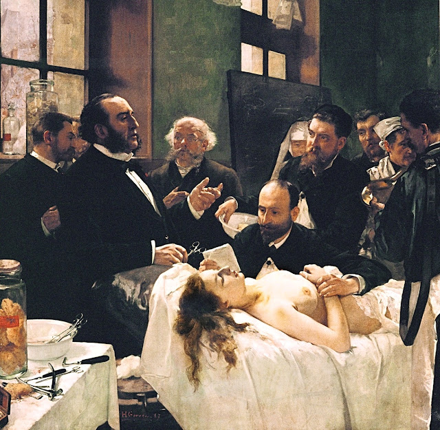Henri Gervex - l'operazione - topless