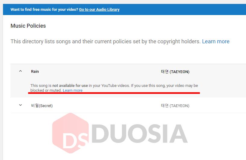 cara menghindari hak cipta youtube