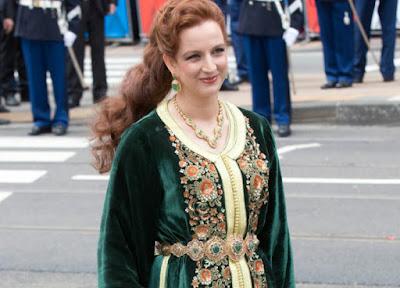 صورة زوجة ملك المغرب محمد السادس لالى سلمى بناني الجميلة