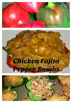 Chicken Fajita Pepper Bombs by Easy Life Inspirations