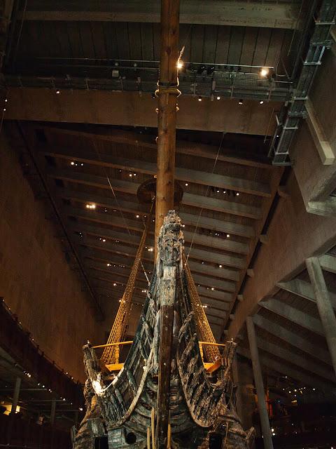 jiemve, Vasa, bâteau, musée, décoration, poulaine