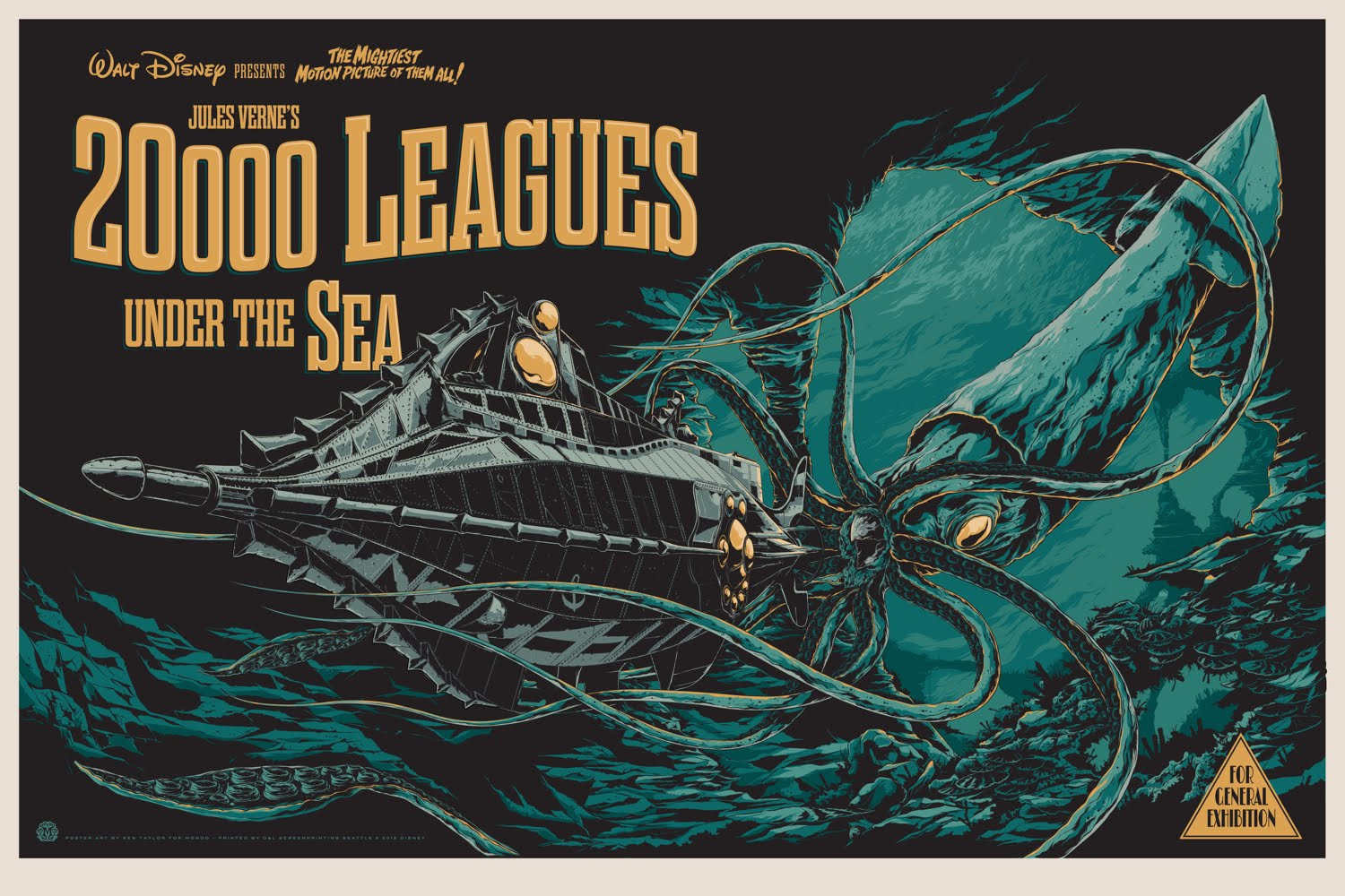 Inside The Rock Poster Frame Blog Disney S 20 000 Leagues