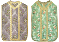 Distinctive Shades of Liturgical Colours in Eighteenth Century Vestment Work