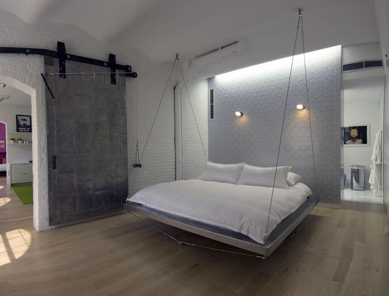 bed rossetto floating furniture win modern bedroom beds shop