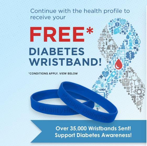 HURRY! FREE Diabetes Awareness Wristband + FREE Shipping!