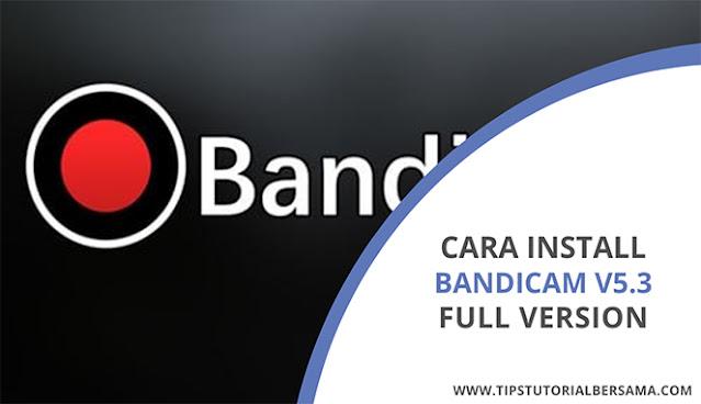 Bandicam screen recorder merupakan aplikasi perekam layar pada laptop tanpa watermark yang dapat di download secara gratis dan full version.