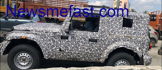 Mahindra thar price , colour , price in india
